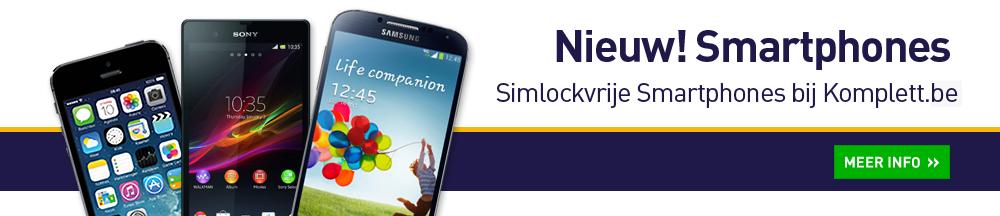 Nieuw! Smartphones. Simlockvrije Smartphones bij Komplett.nl