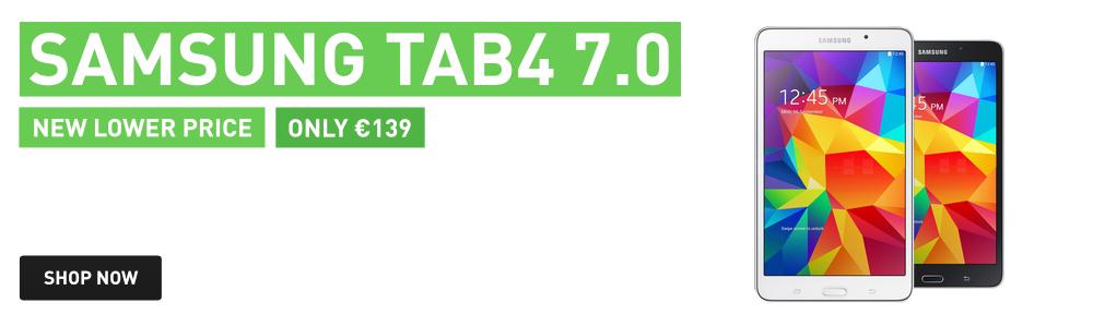Samsung Galaxy Tab4 7-inch now 139!