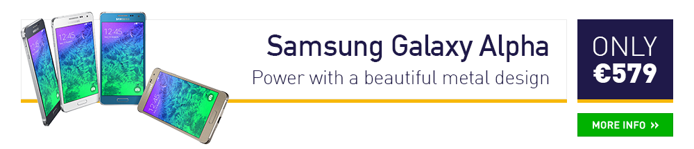 Samsung Galaxy Alpha - Power with a beautiful metal design