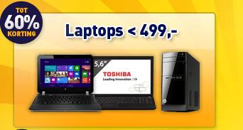 Laptops <499,-