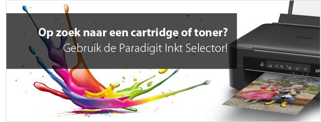 Paradigit Inkt Selector